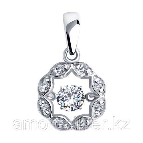 Подвеска из серебра со Swarovski Zirconia   SOKOLOV 89030049