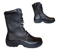 Ботинки нат.кожа с высок.берцами Альфа БКК-003 (молния) р-р40