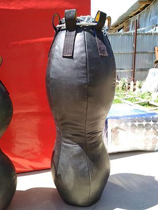 Боксерский мешок / Груша фигурная кожа 110 см, фото 2