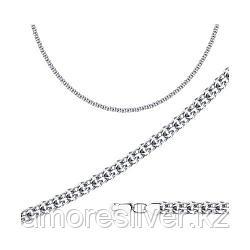 Цепь SOKOLOV серебро с родием, без вставок, версаль 968290604 размеры - 60