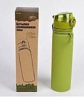 Бутылка силиконовая Tramp 0,7л оливковый TRC-094
