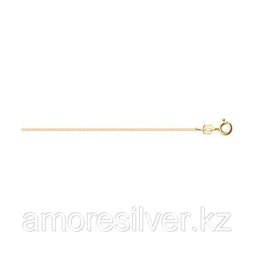 Колье SOKOLOV серебро с позолотой, без вставок 94074521 размеры - 40 45
