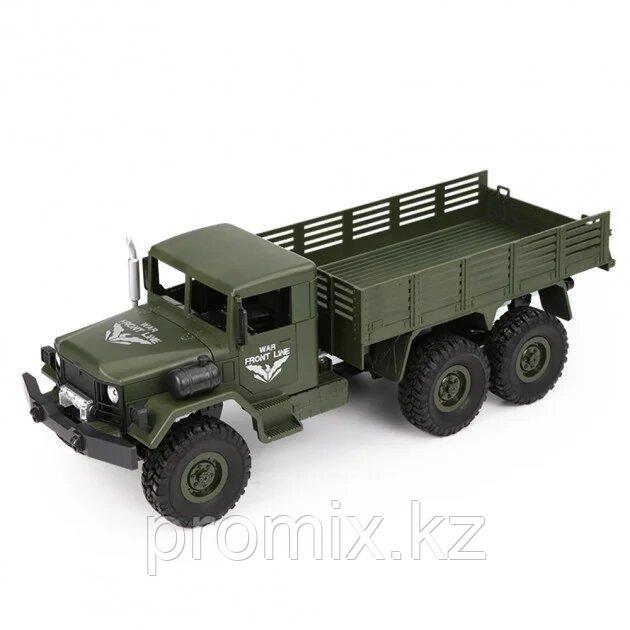 Военный грузовик на радиоуправлении (Полный привод JJRC Transporter Q63)
