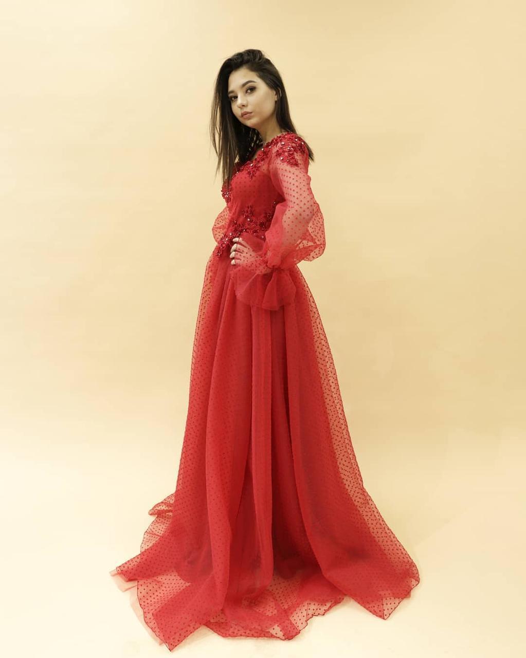 Вечернее платье (камень SWAROWSKI) - фото 2