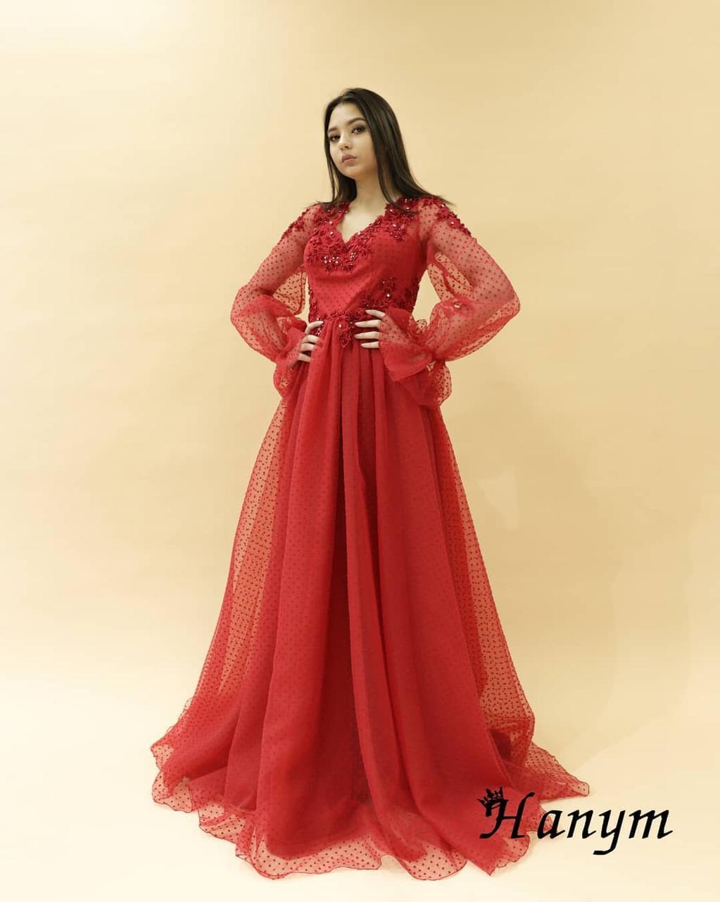 Вечернее платье (камень SWAROWSKI) - фото 1