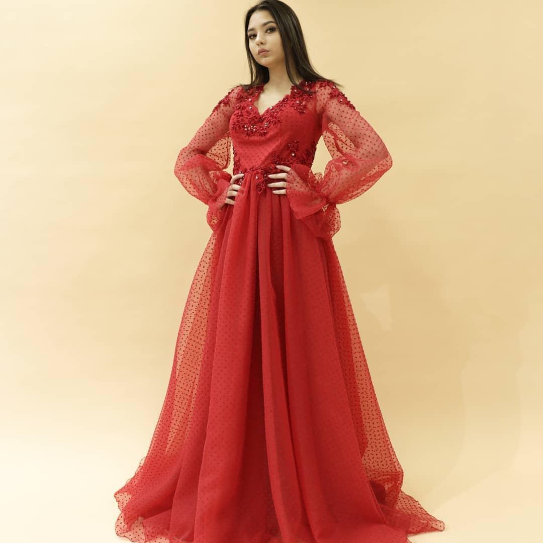 Вечернее платье (камень SWAROWSKI) - фото 5