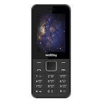 Мобильный телефон Nobby 200 черно-серый