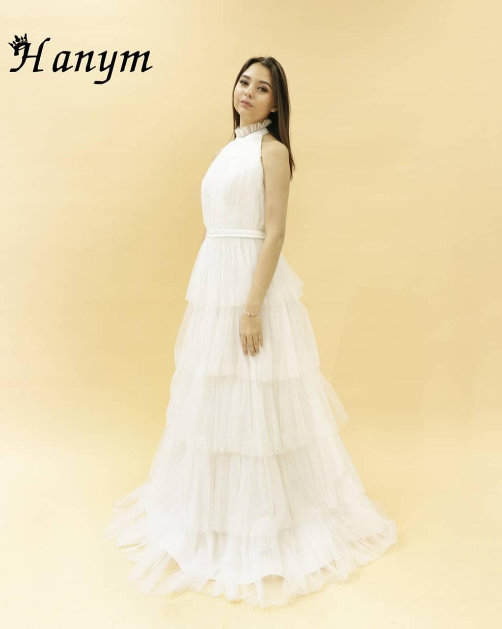 Вечернее платье (белое) 40 размер