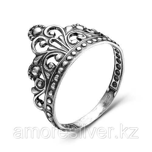 Кольцо Красная Пресня из черненного серебра, корона 2307984