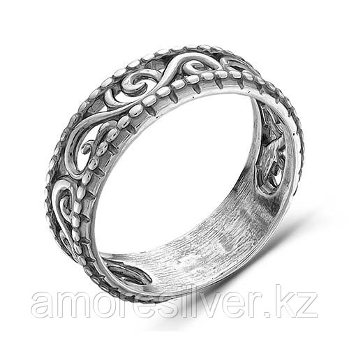 Кольцо Красная Пресня из черненного серебра 2307794