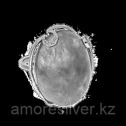 Кольцо Приволжский Ювелир , нефрит фианит, , овал 251136 размеры - 20