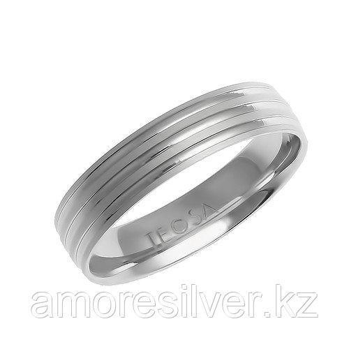 "Кольцо Teosa серебро с родием, без вставок, ""насечки"" FF-R593-5 размеры - 22"