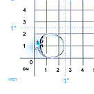 "Кольцо Teosa серебро с родием, топаз фианит, ""halo"" 0976-R-T, фото 2"