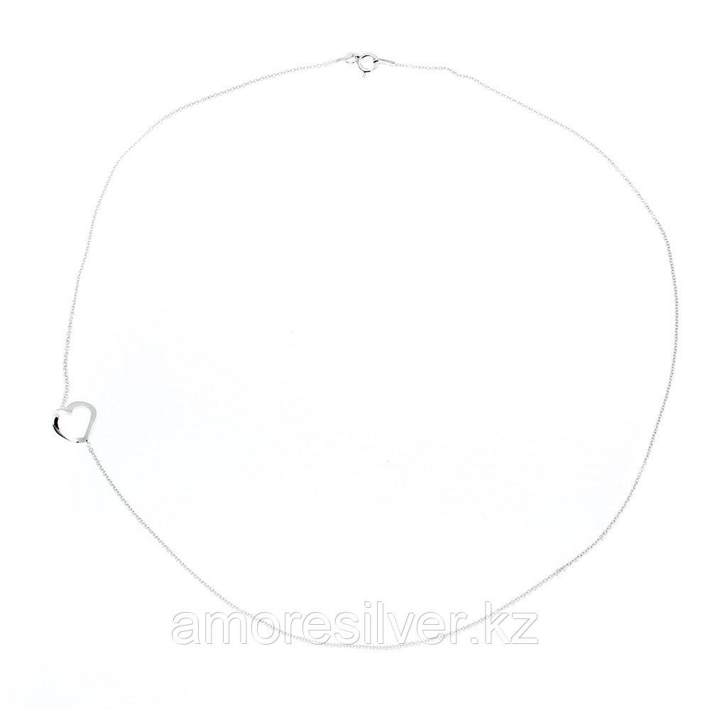 Браслет Teosa серебро с родием, без вставок, фантазийная, фантазия SET7962/I BR-18