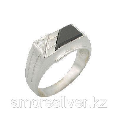 Кольцо Teosa серебро с родием, фианит, классика T-115132