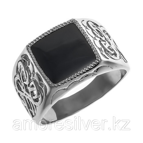 Кольцо Teosa серебро с родием, фианит, классика T-115271