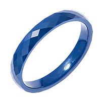 Кольцо Teosa серебро без покрытия, керамика, ZCP-097-B-G размеры - 16 16,5 17 17,5 18 18,5