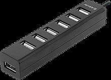 Defender 83203 USB разветвитель универсальный Quadro Swift USB2.0, 7 портов