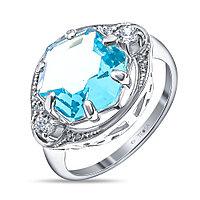 """Кольцо Teosa серебро с родием, алпанит, , """"каратник"""" 10-200-TC размеры - 16,5"""