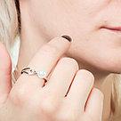 Кольцо TEO SANTINI серебро с родием, майорка, модное GR01725R размеры - 18,5, фото 3