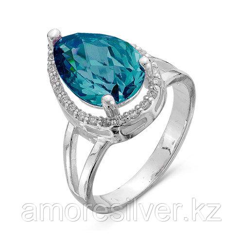 Кольцо из серебра с фианитом  Красная Пресня 2386498Д7 размеры - 18 19