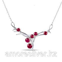 Колье из серебра с рубином   Teosa N-DRGR00539-RB размеры - 50
