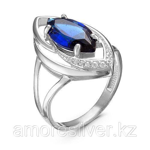 Кольцо из серебра с фианитом   Серебряный дождь кр-051-6