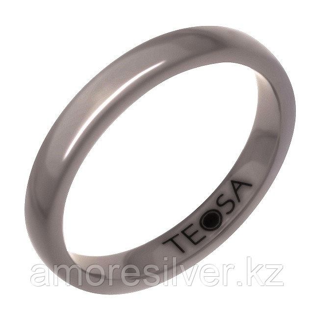 Кольцо Teosa серебро без покрытия, керамика,  ZCP-097-G размеры - 16,5 17 17,5