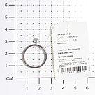 Кольцо Teosa серебро без покрытия, керамика,  ZCP-097-G размеры - 16,5 17 17,5, фото 2