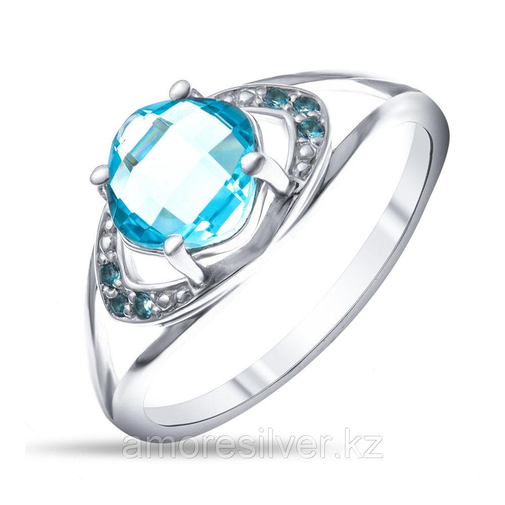 Кольцо Prestige серебро с родием 01300с