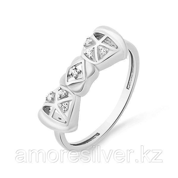 Кольцо Красносельский Ювелирпром серебро с родием, фианит, бантик 3207004396Л