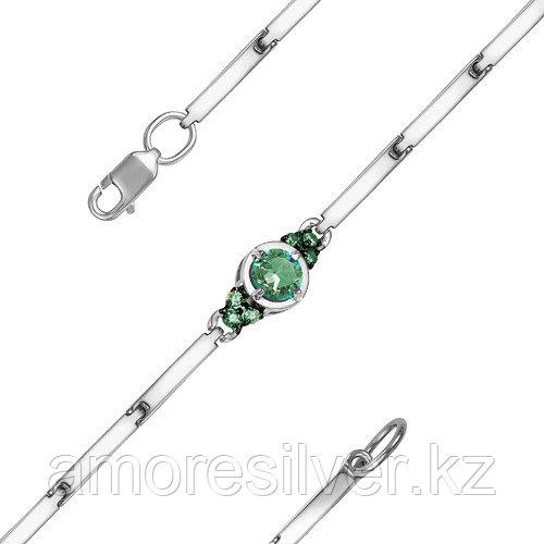 Браслет из серебра с фианитом  Teosa 5000-0036-EM-r размеры - 16,5