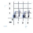 "Серьги Teosa серебро с родием, фианит синт. сапфир нат. (u), ""halo"" E-DRGR00751-SP, фото 2"