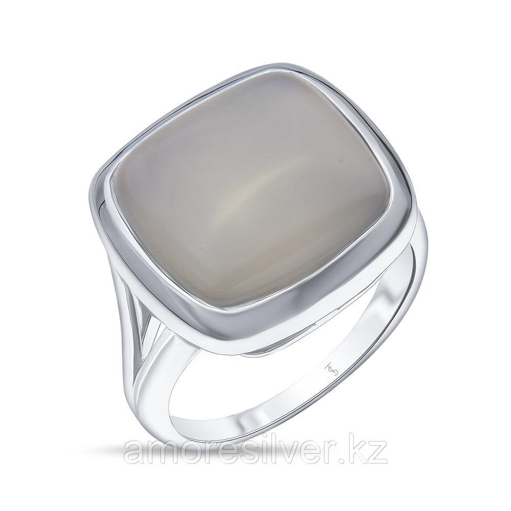 Кольцо TEO SANTINI серебро с родием, лунный камень SR1793