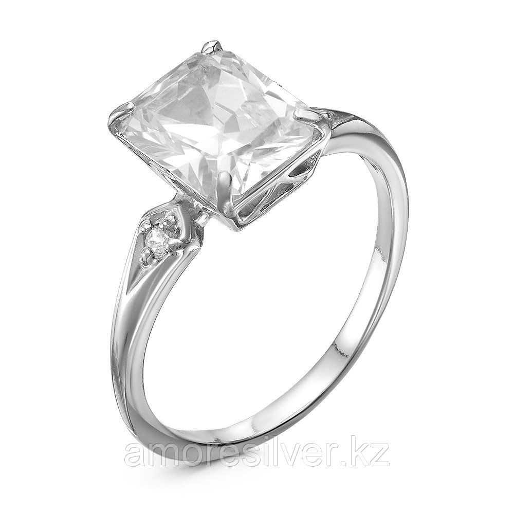 Кольцо из серебра с фианитом    Красная Пресня 23810412Д