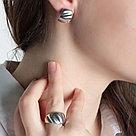Кольцо Delta серебро с родием, без вставок, геометрия с211120, фото 2