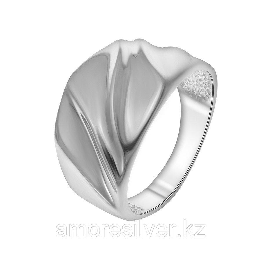 Кольцо Delta серебро с родием, без вставок, геометрия с211122
