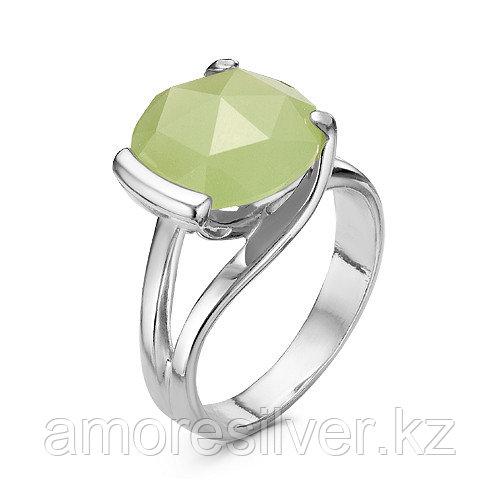 Серебряное кольцо с нефритом  Красная Пресня 23310114Дн размеры - 18