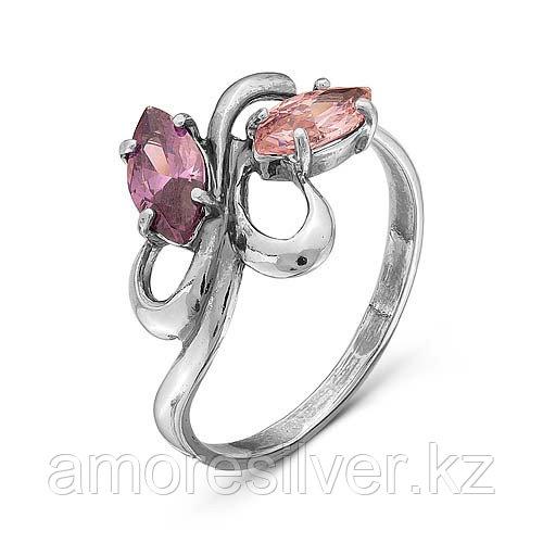 Кольцо Красная Пресня , фианит, многокаменка 2387040 размеры - 17,5