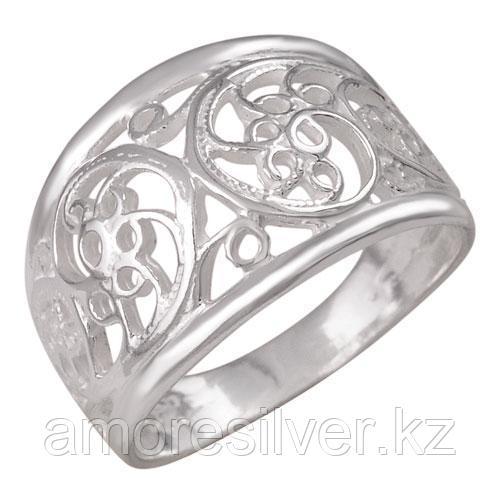 Кольцо Красная Пресня серебро без покрытия, без вставок, , ажурное 2301132б размеры - 17