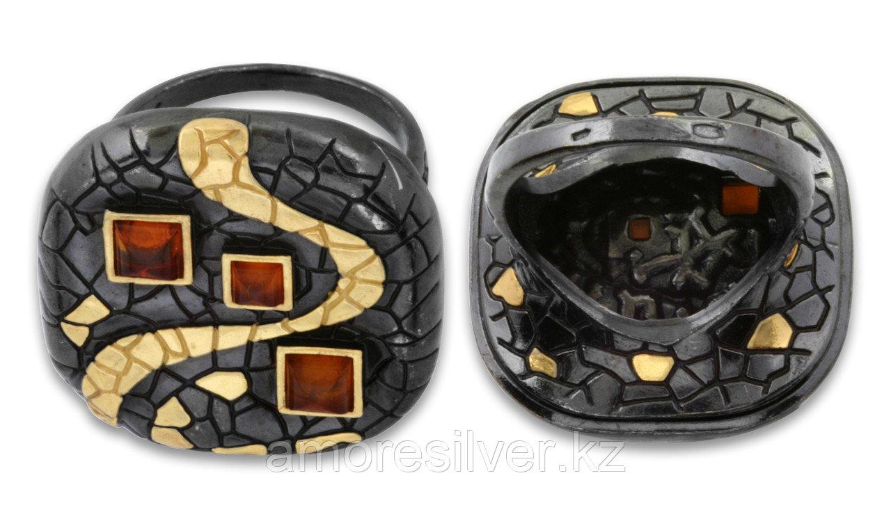Кольцо Балтийское золото , янтарь, необычное 71131345 размеры - 19