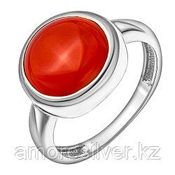 Кольцо Teosa серебро с родием, агат, круг 1000-0341-RA размеры - 18