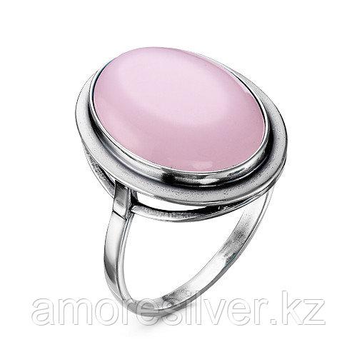 Кольцо Красная Пресня , кварц розовый 2339850К размеры - 17,5