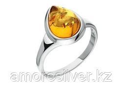 Кольцо Darvin серебро с родием, янтарь коньячный, капля 920041030aa