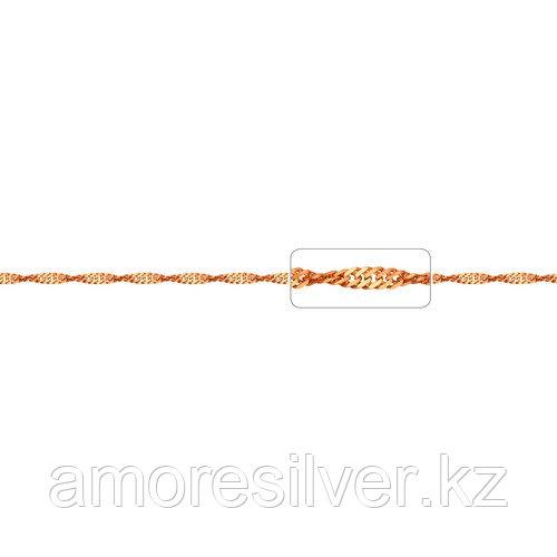 Браслет Адамант серебро с позолотой, без вставок, сингапур Ср925П-105402016 размеры - 16