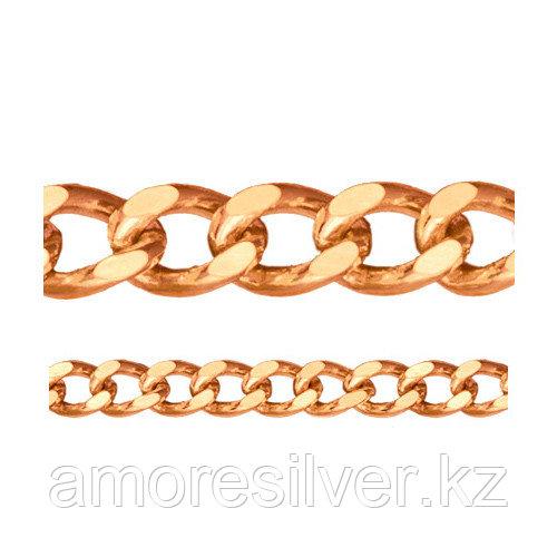 Цепь Адамант серебро с позолотой, без вставок, панцирная Ср925П-100702040 размеры - 40