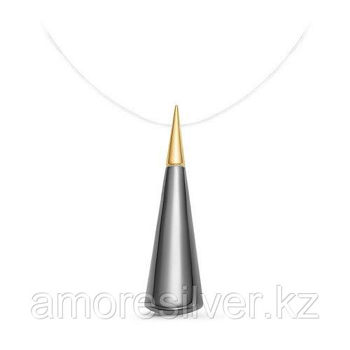 Колье Delta , без вставок, карабинный замок, треугольник с070550пзж размеры - 38