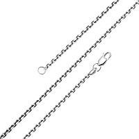 Браслет Красцветмет серебро с родием, без вставок, якорная НБ 22-053-3-045 размеры - 17