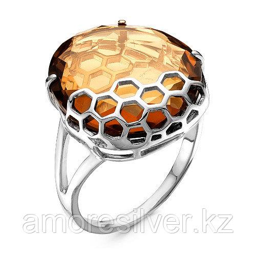 """Кольцо MASKOM серебро с родием, кристалл ювелирный, """"каратник"""" 100-1094b размеры - 17"""