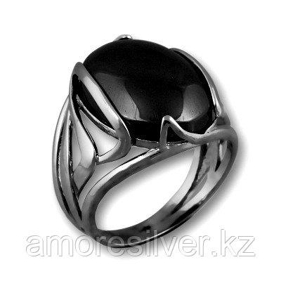 Кольцо Елана серебро с родием, бирюза, овал 211372 размеры - 18,5
